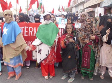 Balochs rally in Turbat