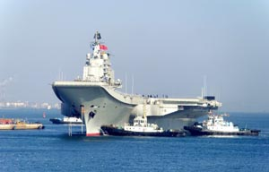 Chinese aircraft carrier to gwadar