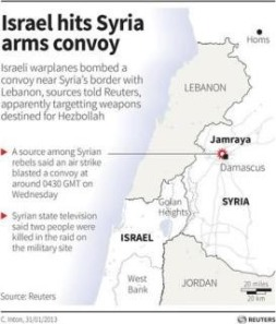 israeli hit on syria