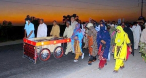 long march in sindh