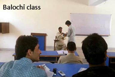 balochi class