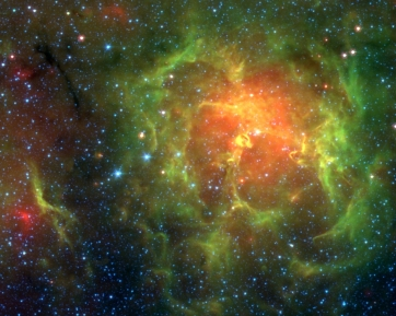 Spitzer-Uncovers-Star-Hatchery