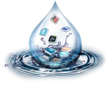 social-media-drop-bubble-wave